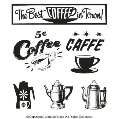 Coffee clipart vintage coffee Of coffee 25+ Sign ideas