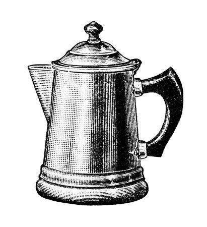 Kettle clipart smoke Pot vintage free coffee old