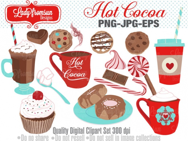 Coffee clipart winter food Hot  Clip Use chocolate