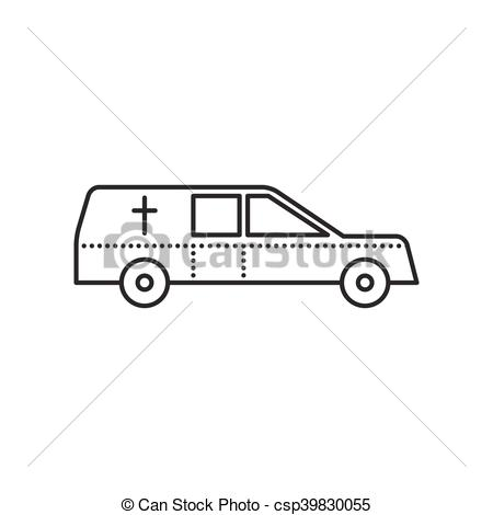 Coffin clipart death Car icon Vector Coffin Symbol