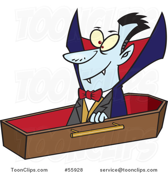 Coffin clipart dracula Ron  from Leishman from