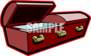 Coffin clipart open coffin Picture Free Open Coffin Empty