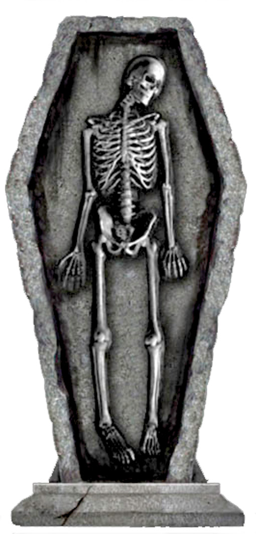 Coffin clipart skeleton In in Tombstone Coffin Coffin