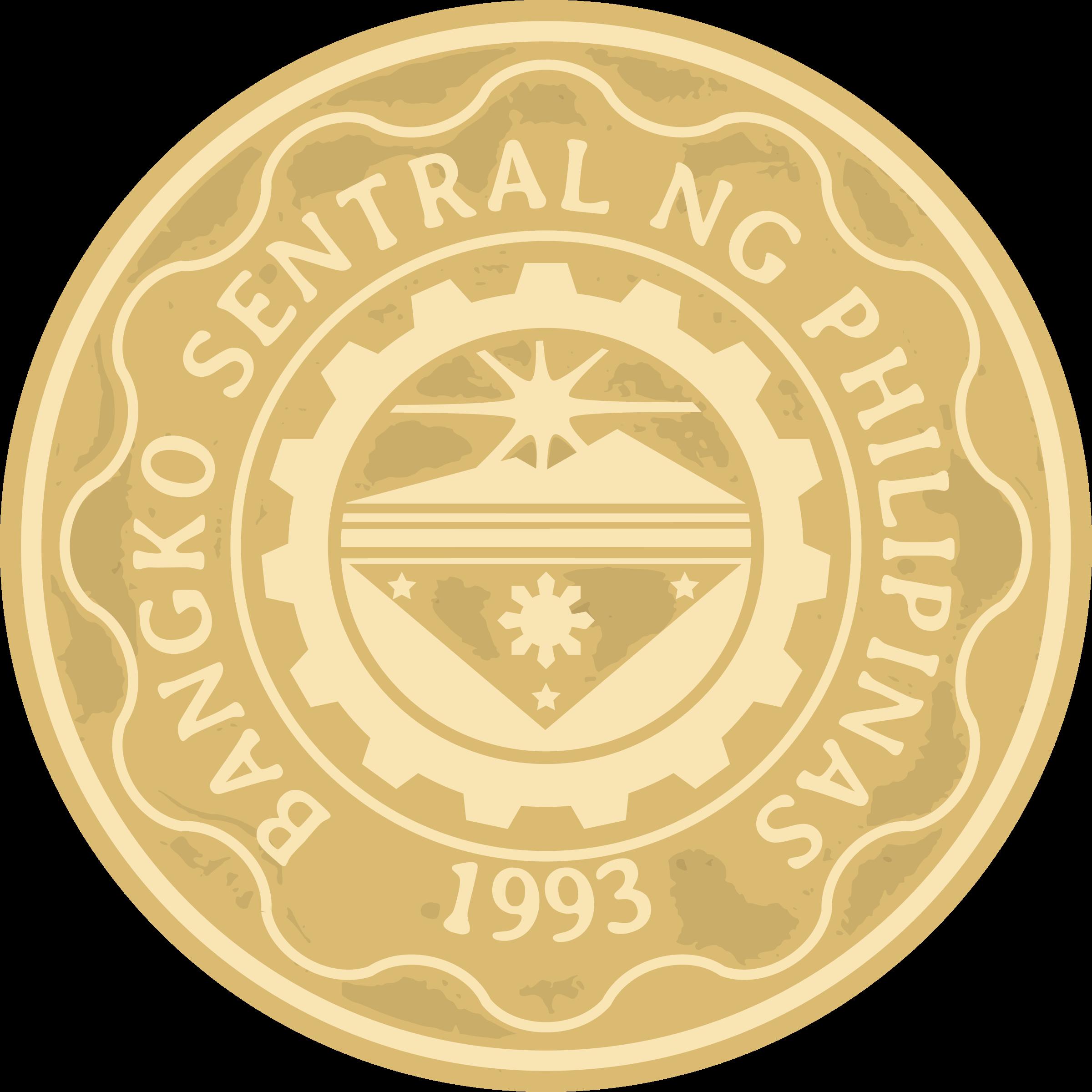 Coin clipart 1 peso 5 peso peso 5 back