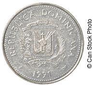 Coin clipart 1 peso Republic coin 1 republic peso