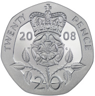 Coin clipart 20p Pence Clip  Twenty Pence