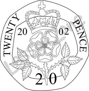 Coin clipart 20p 20p 104652Z01_United_Kingdom_20p_coin_BW01 AU United Lesson