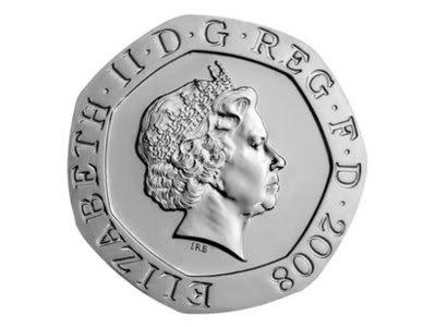 Coin clipart 20p Clip 20 clipart British coin