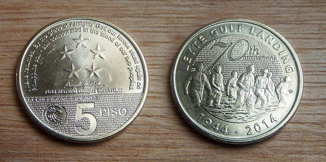 Coin clipart 5 peso Peso Of 1944 Coin 5