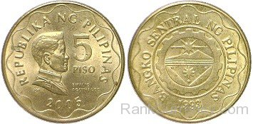 Coin clipart 5 peso Currency Of 2005 Page Philippines