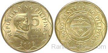 Coin clipart 5 peso Peso Of 2005 Page 5
