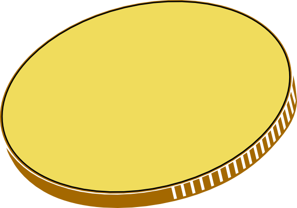 Coin clipart money pound Art Art clip Gold Clip