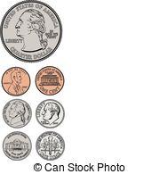 Coin clipart american coin Clipart American coins clipart coins