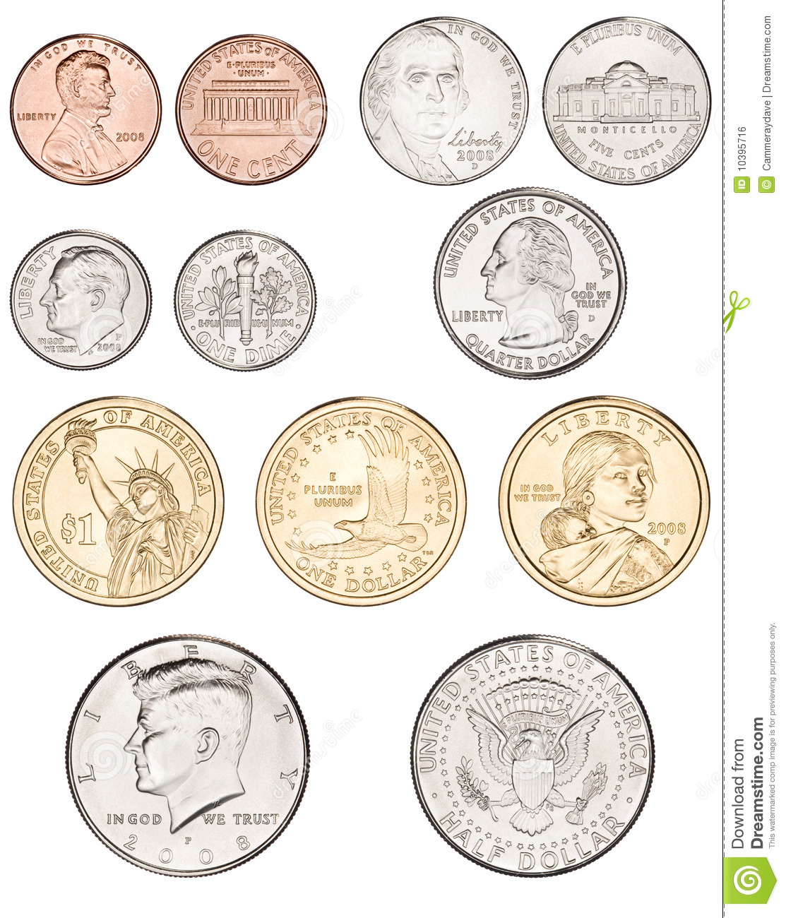 Coin clipart american coin Coins American clipart pictures money