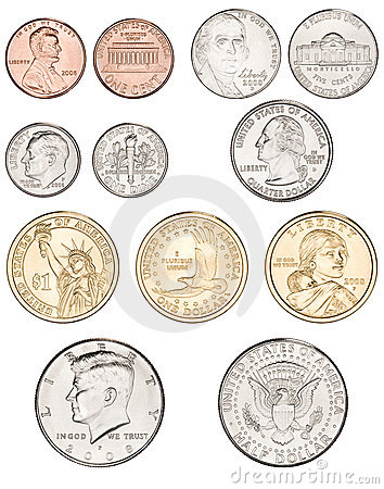 Coin clipart american coin Money  American American pictures
