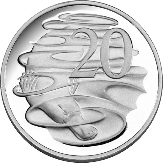 Coin clipart australian coin Proof 2013 20c 210229 Australian