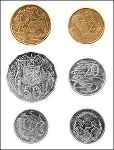Coin clipart australian coin Notes Coins Teaching Australian