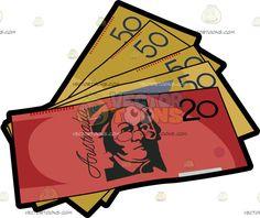 Coin clipart australian dollar Mint Australian Multiple Fifties Dollar
