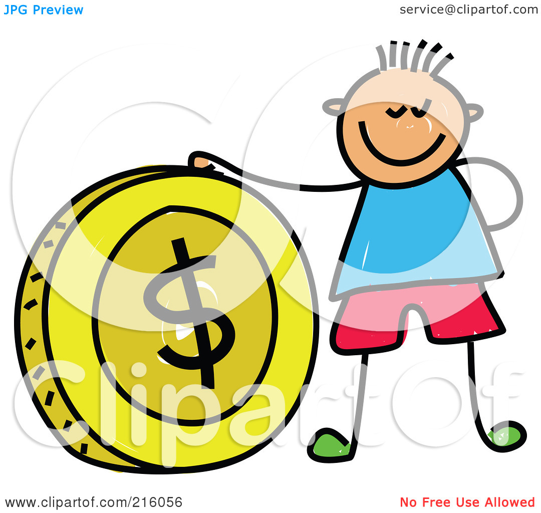 Coin clipart boy with Art Coin Clipart Coin Downloads