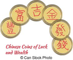 Coin clipart bunch Of China money of Gold