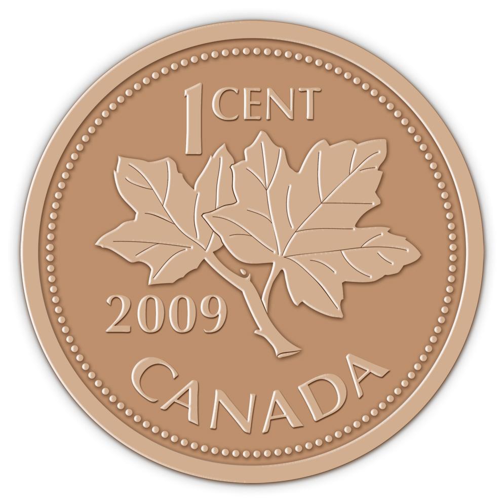 Coin clipart canadian dollar Penny Art: Color Canadian abcteach
