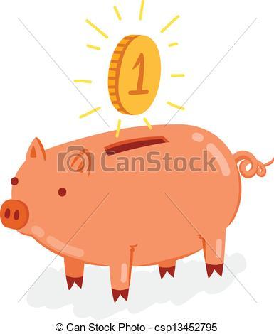 Coin clipart cute EPS Cute Cute with shiny