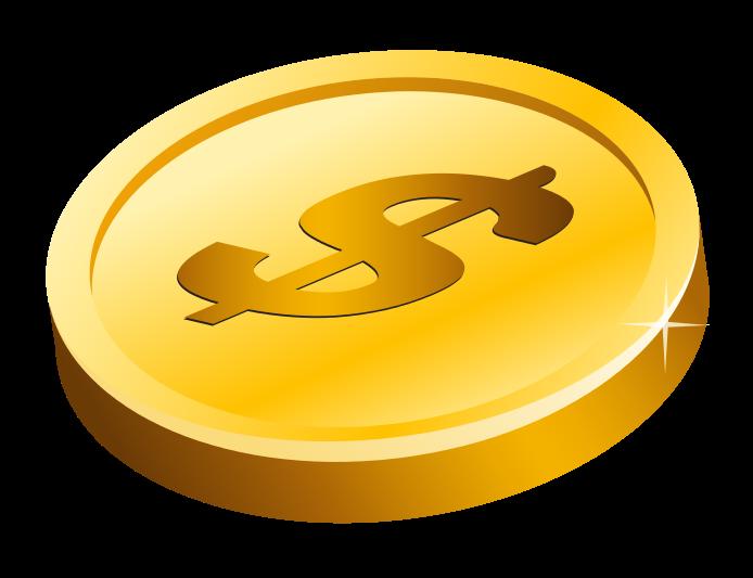 Buck clipart free money Coin Clip ClipartAndScrap Clipart coins