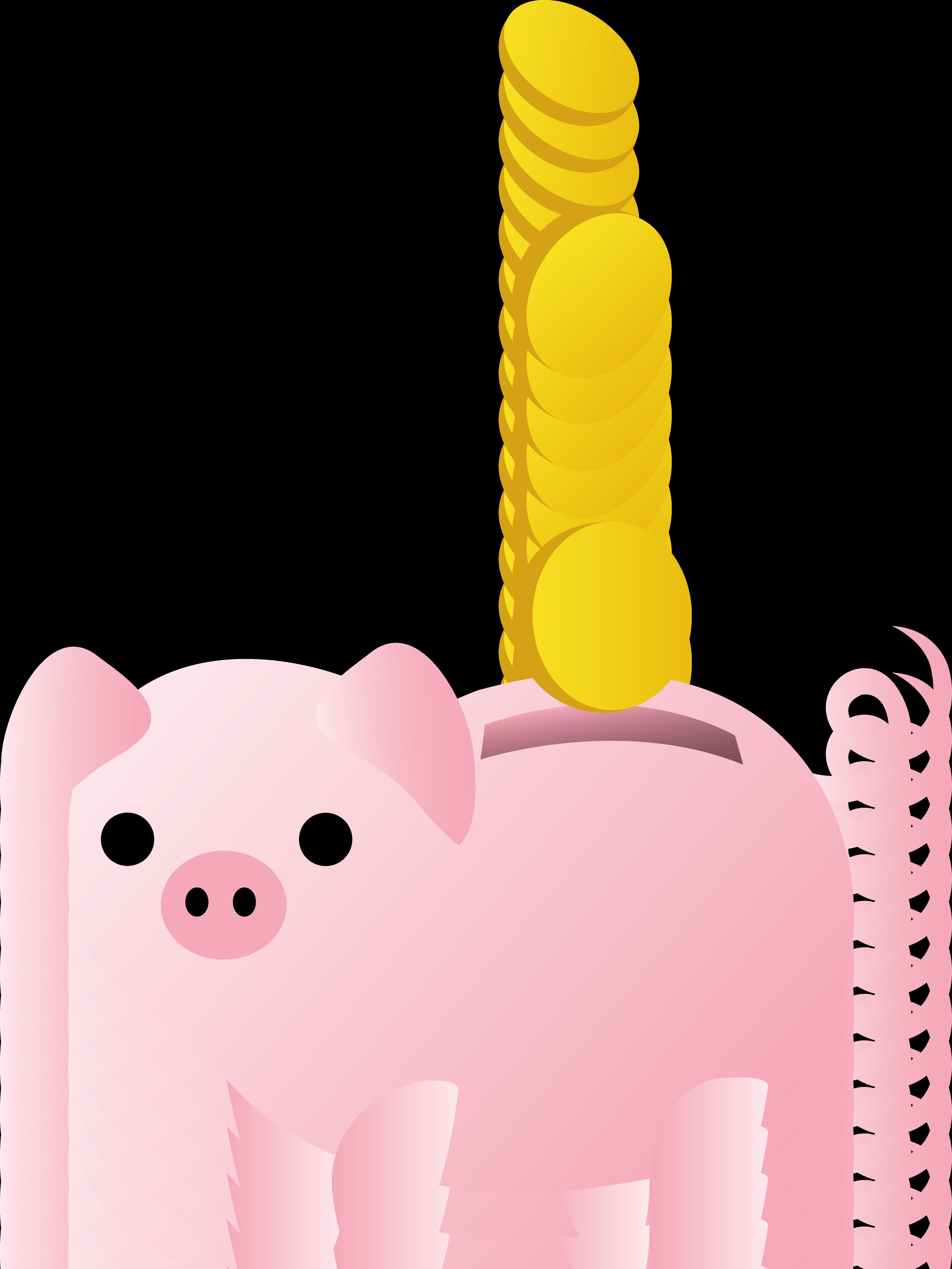 Coin clipart cute Clip Piggy Piggy Clip With