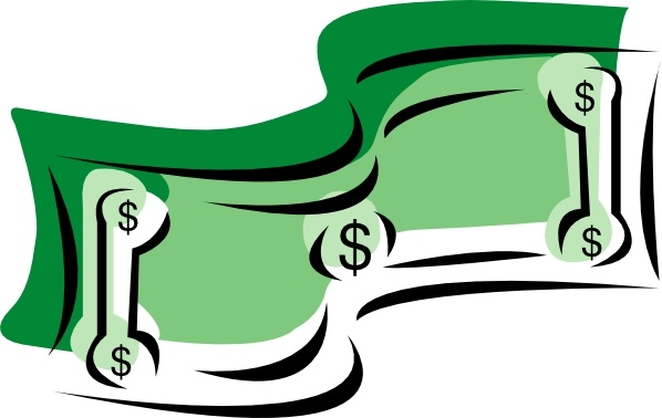Coin clipart dollar bill Clip Dollar clip  art