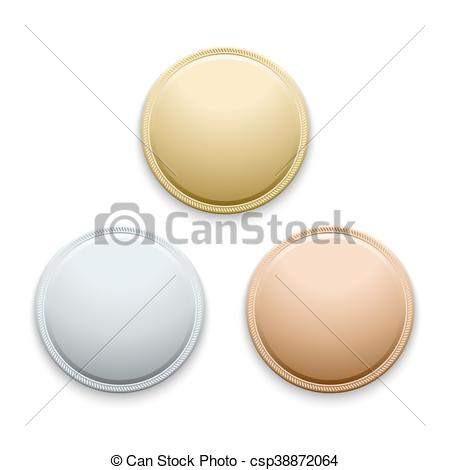 Coin clipart empty Template medal medal Clip of