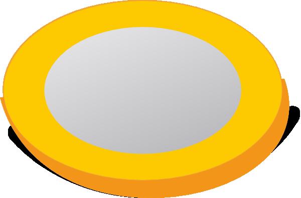 Coin clipart empty Vector art  Coin clip