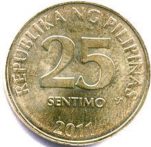 Coin clipart filipino Philippine peso Philippine The