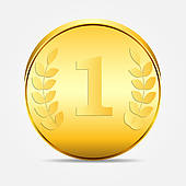 Coin clipart gold token Vector Vectors coin vector illustration