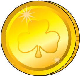 Coin clipart gold token Art images coins Coins black