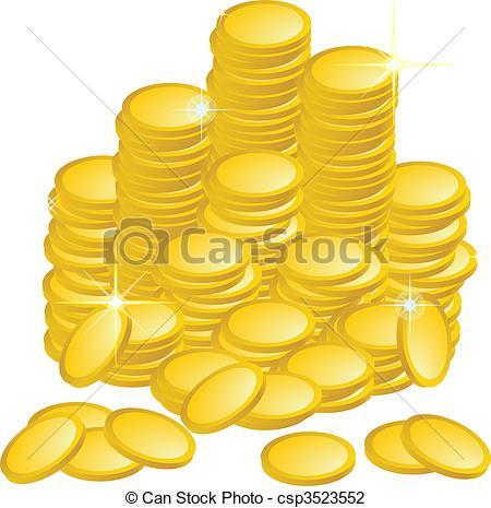 Coin clipart gold token Free Can Coins Artby Tokens