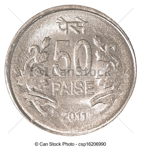 Coin clipart indian coin 50 of Stock indian coin