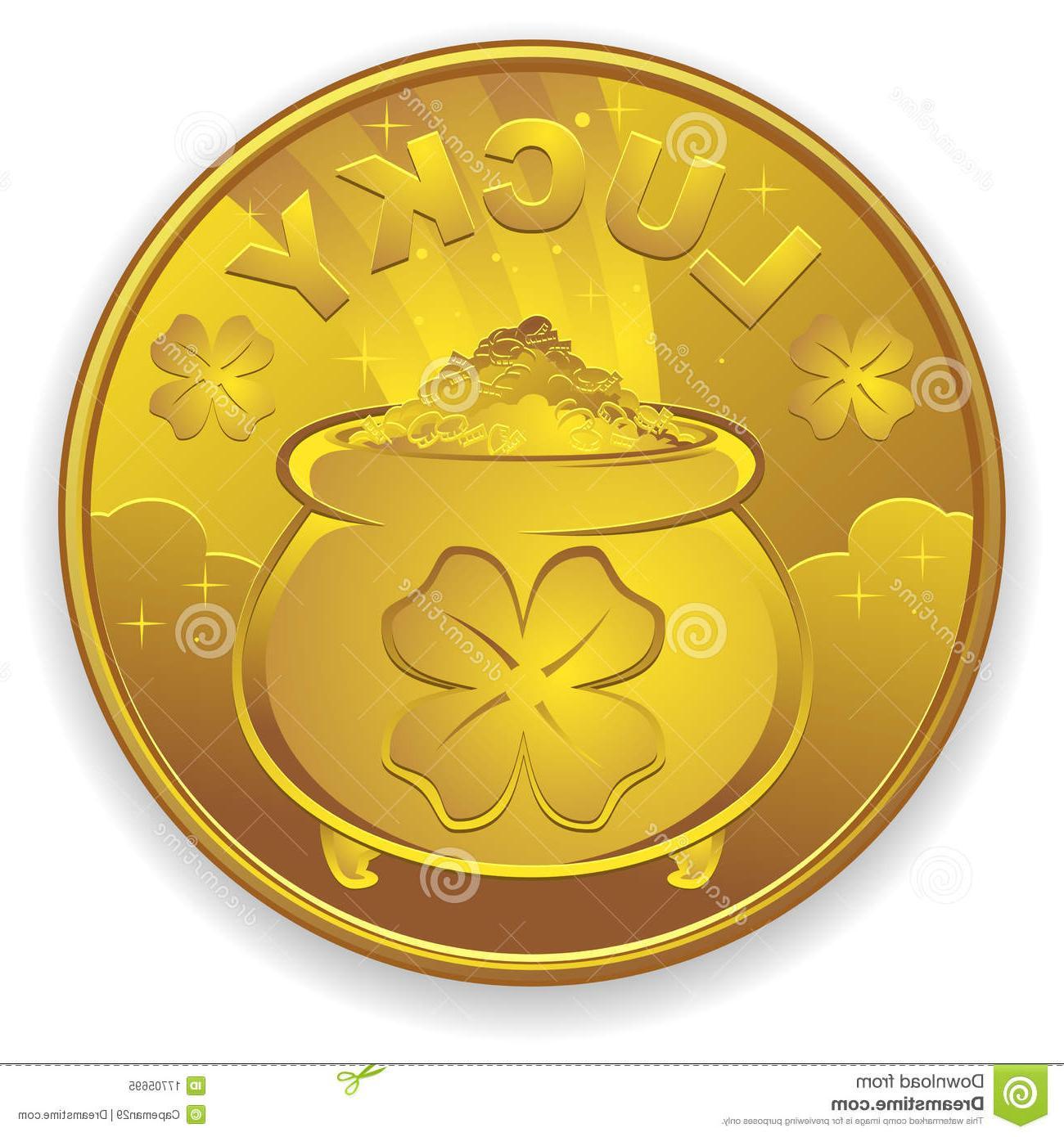 Coin clipart leprechaun Image Leprechaun Clipart Coin Best