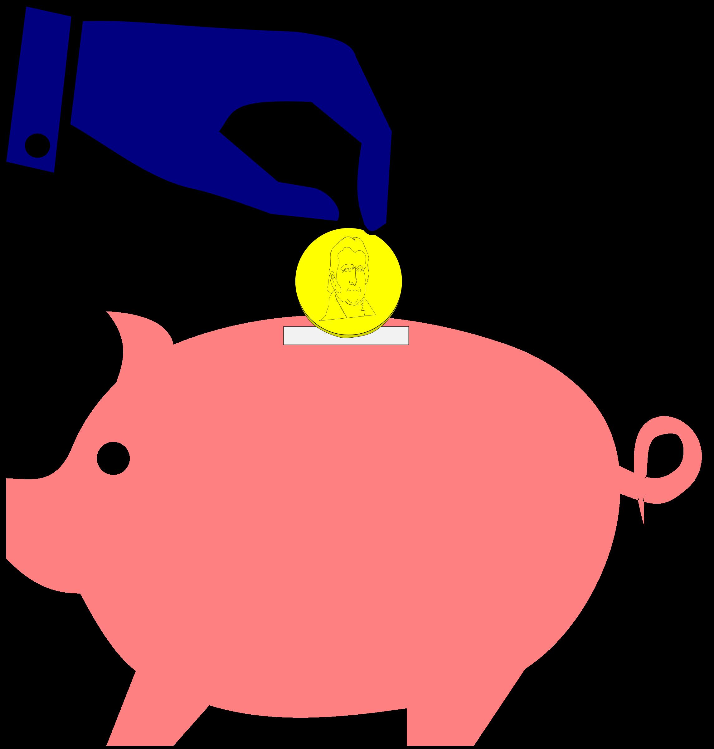 Coin clipart money bank Money Clipart Piggy Clipart Clipart