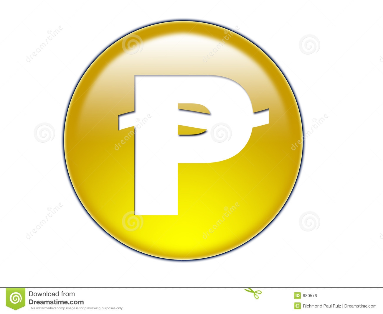 Coin clipart money peso Clipart Gold White Coin And