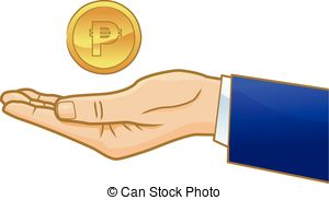 Coin clipart money peso A of royalty on Peso