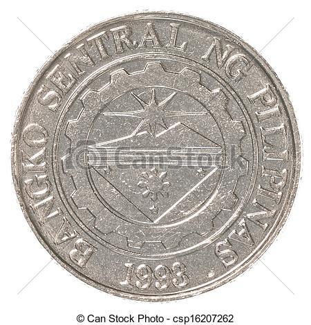 Coin clipart money peso Philippine 1  coin Philippine