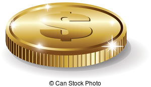 Coin clipart one Pens coin One One