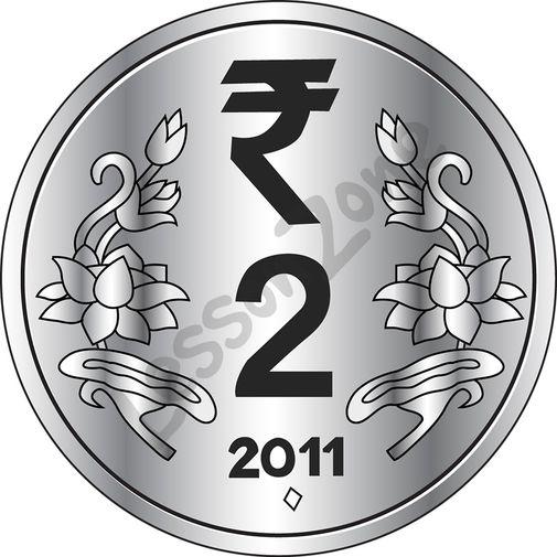 Coin clipart outline AU Clip Zone Lesson ₹2