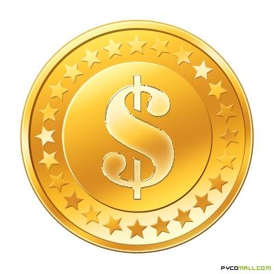 Coin clipart pirate coin Gold Coin Golden  Single