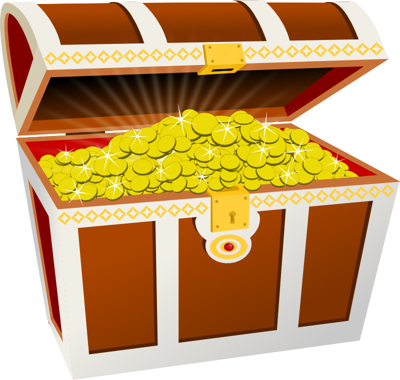 Coin clipart pirate coin Chest by lots of chest