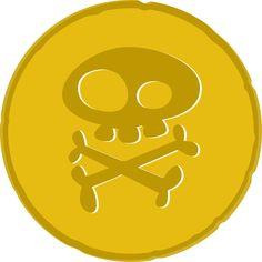 Coin clipart pirate coin Png (3001×3001) art nn´s Minus