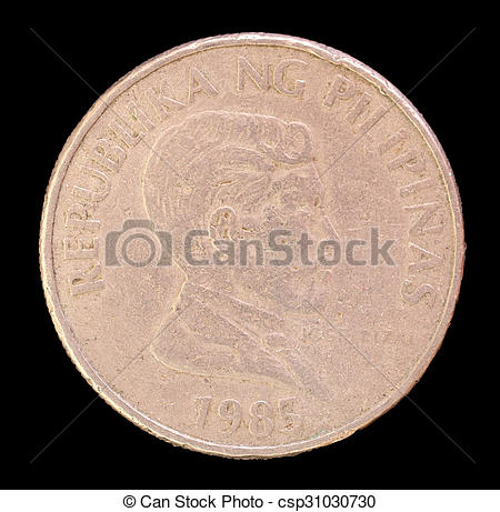 Coin clipart piso By 1983 issued piso in