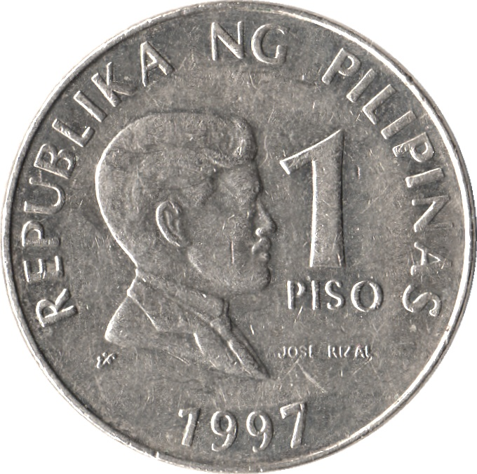 Coin clipart piso Rizal Coin pic REPUBLIKA Jose