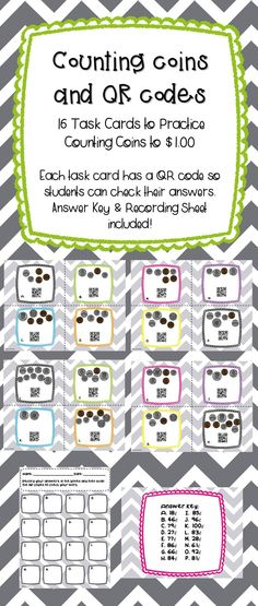Coin clipart show me the money Cards QR Counting With The