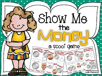 Coin clipart show me the money A and Money Friends Show